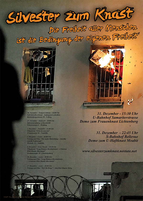 Silvester zum Knast 2013_poster