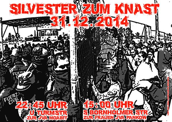Silverster zum Knast 2014